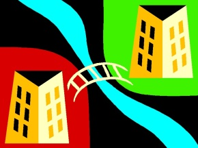 Brücke am Übergang Schule Beruf
